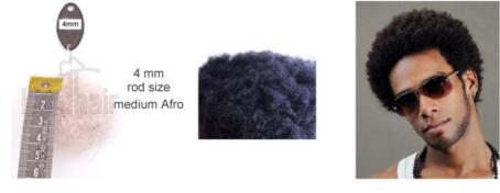 Ricci Afro Parrucche