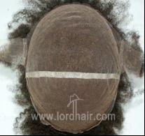 JQ445 parrucca ricci afro completamente in lace francese