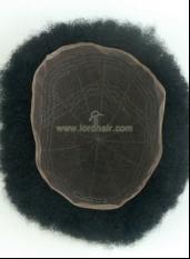 JQ1646 parrucca ricci afro lace francese