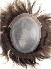 Impianto di capelli mono lace PU