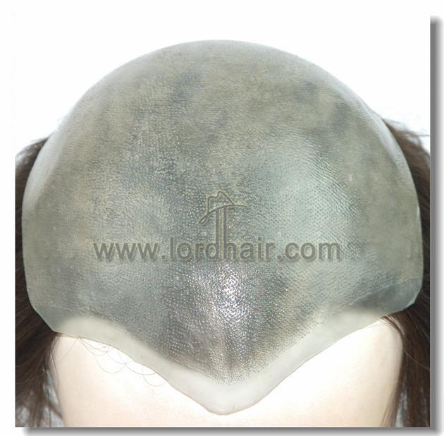 Protesi capelli in skin super sottile