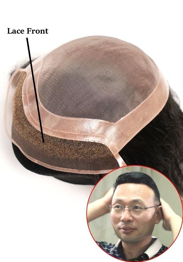 Protesi capelli uomo con lace front
