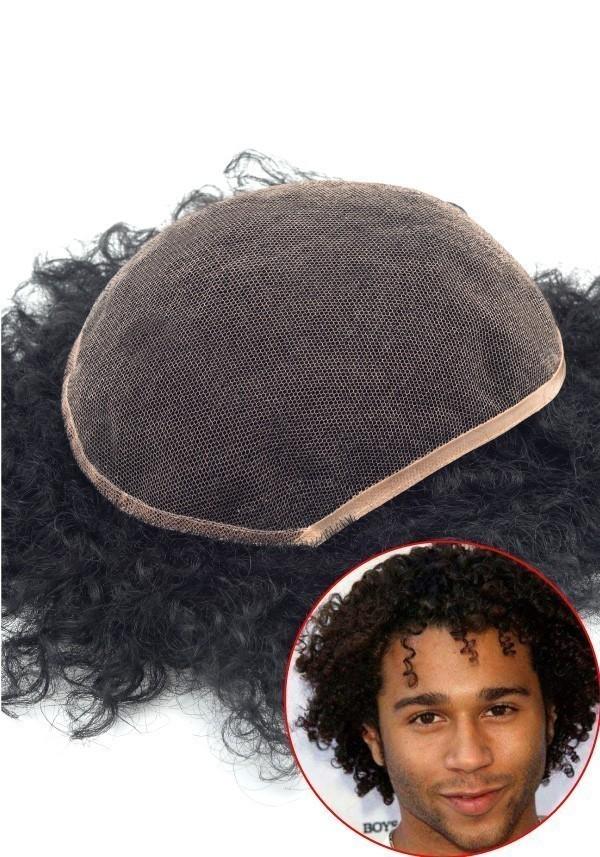 S6 parrucca coi ricci
