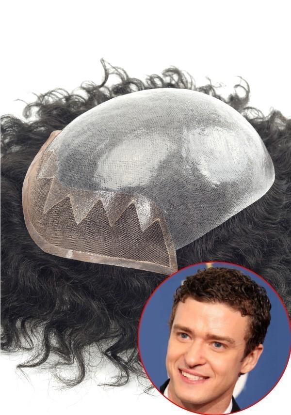 S12 Protesi di capelli con ricci