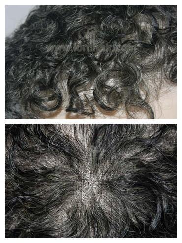 T481 parrucca con ricci