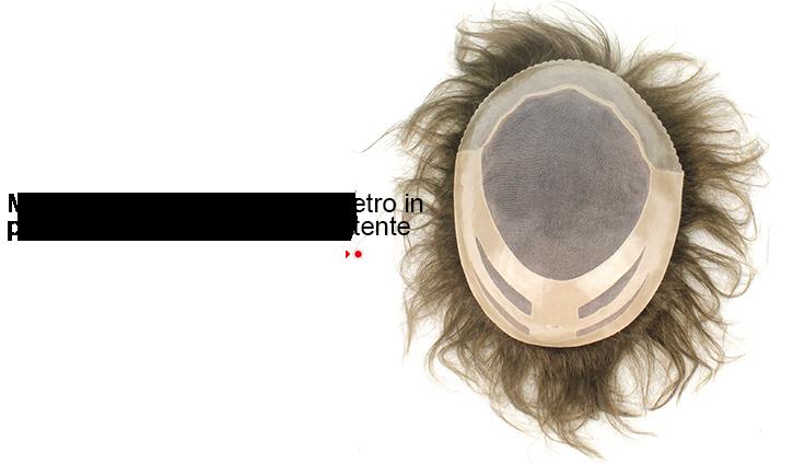 F27 protesi capelli uomo design base