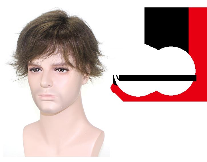 F27 protesi capelli uomo frontale