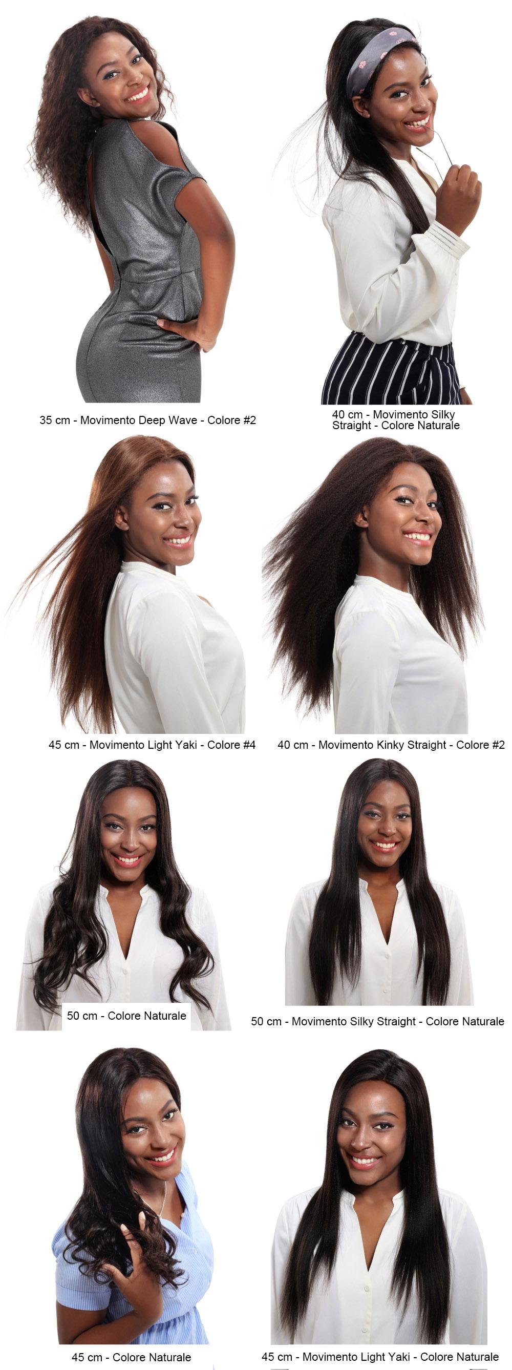 FLW-S movimento del capello