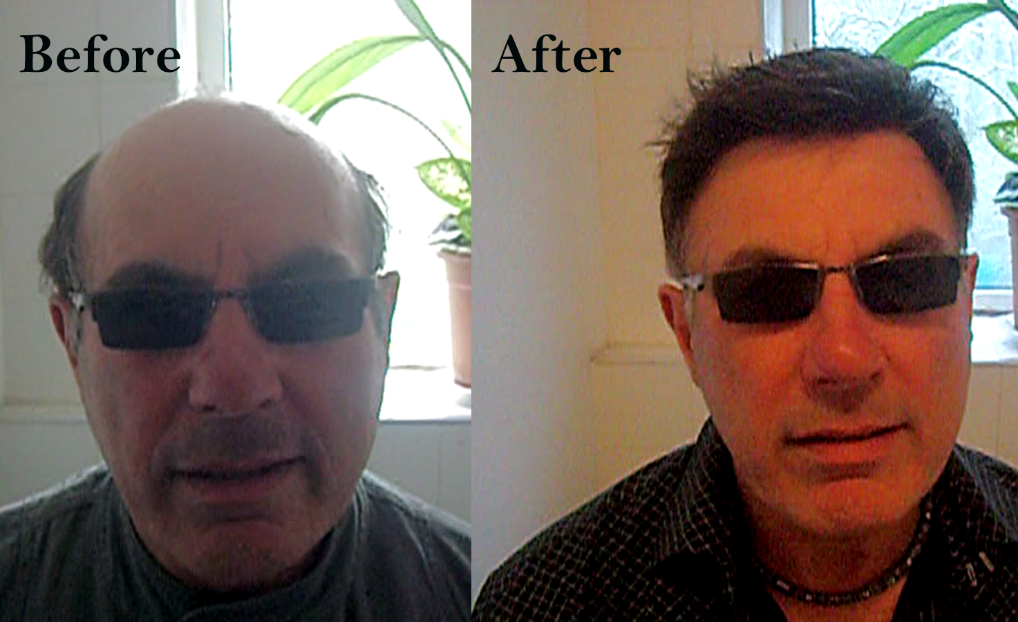 Customer before&after