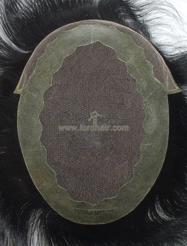 french lace transparent pu coat perimeter lace front