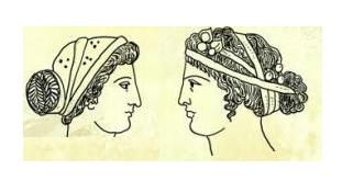 Capelli delle antiche greche