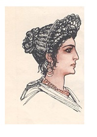 Acconciatura antica roma donna