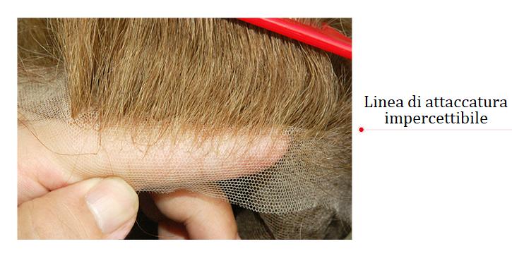 T445 protesi capelli da donna