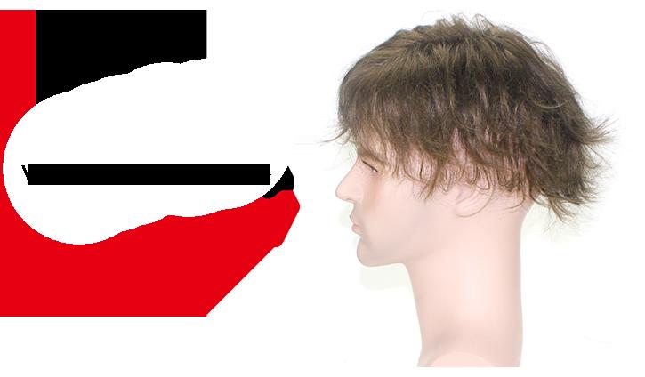 F27 protesi capelli uomo di lato