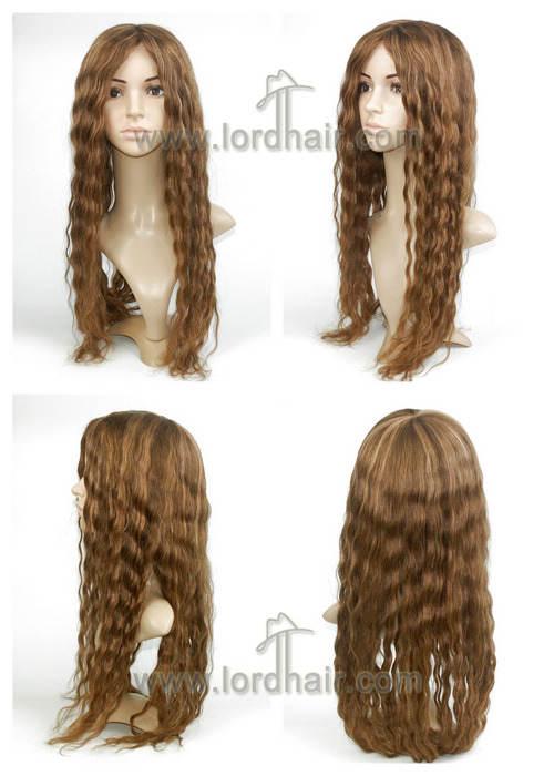 yj258 full cap lady wigs